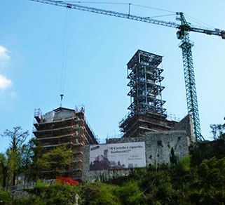 Restoration of the Clock Tower and the Former Prison of the Castle of Gemona